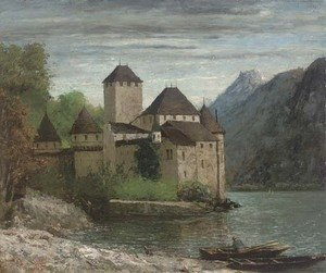 Gustave Courbet - Le Chateau de Chillon