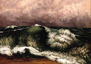 Gustave Courbet - La Vague 3