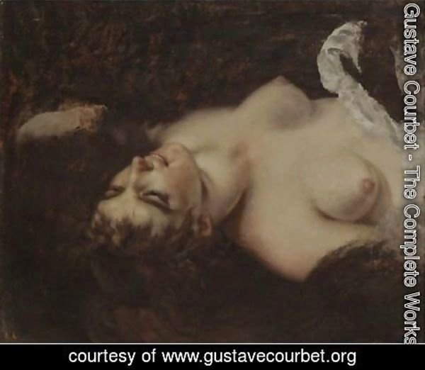 Gustave Courbet - Femme Nue