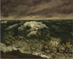 Gustave Courbet - La Vague 6