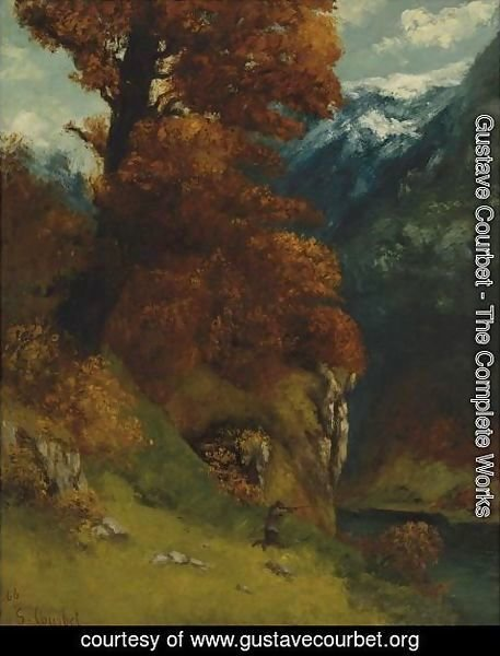 Gustave Courbet - Le Chasseur