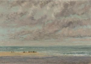 Gustave Courbet - Marine, Les Equilleurs
