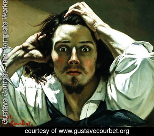 Gustave Courbet - The Desperate Man 2