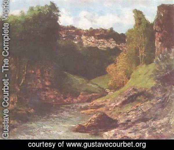 Gustave Courbet - Balancing rocks