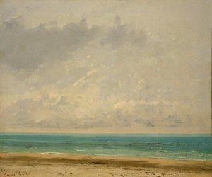 Gustave Courbet - Calm Sea