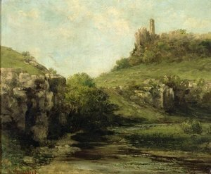 Gustave Courbet - The Source at Ornans