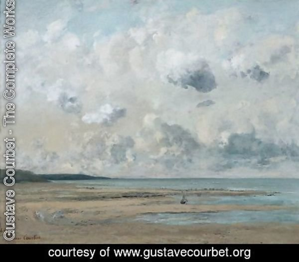 Gustave Courbet - Shores of Normandy