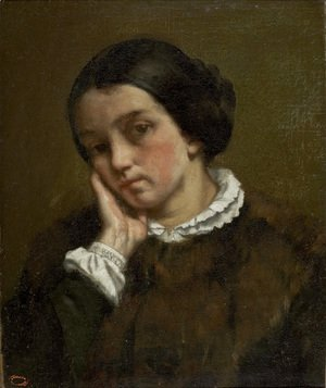 Portrait of Zelie Courbet 2