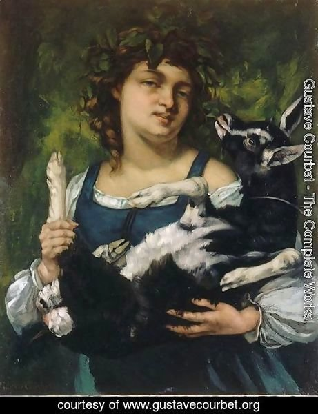 The Village Girl with a Goatling