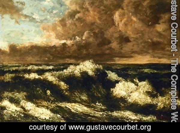 Gustave Courbet - Seascape 3
