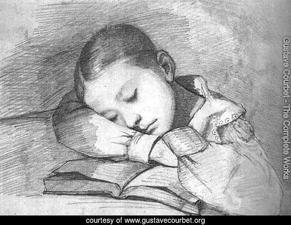 Portrait of Juliette Courbet as a Sleeping Child