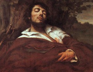 Gustave Courbet - Wounded Man