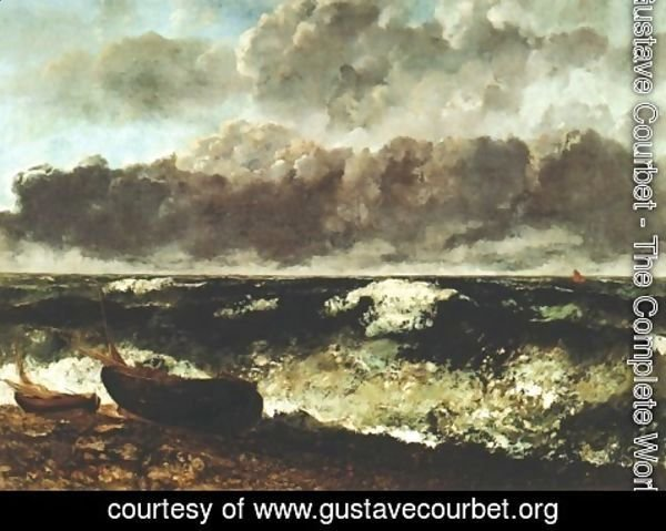 Gustave Courbet - Wave